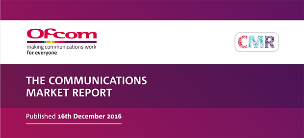OFCOM International Communications Market Report 2016
