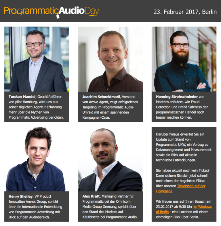 Programmatic Audio Day